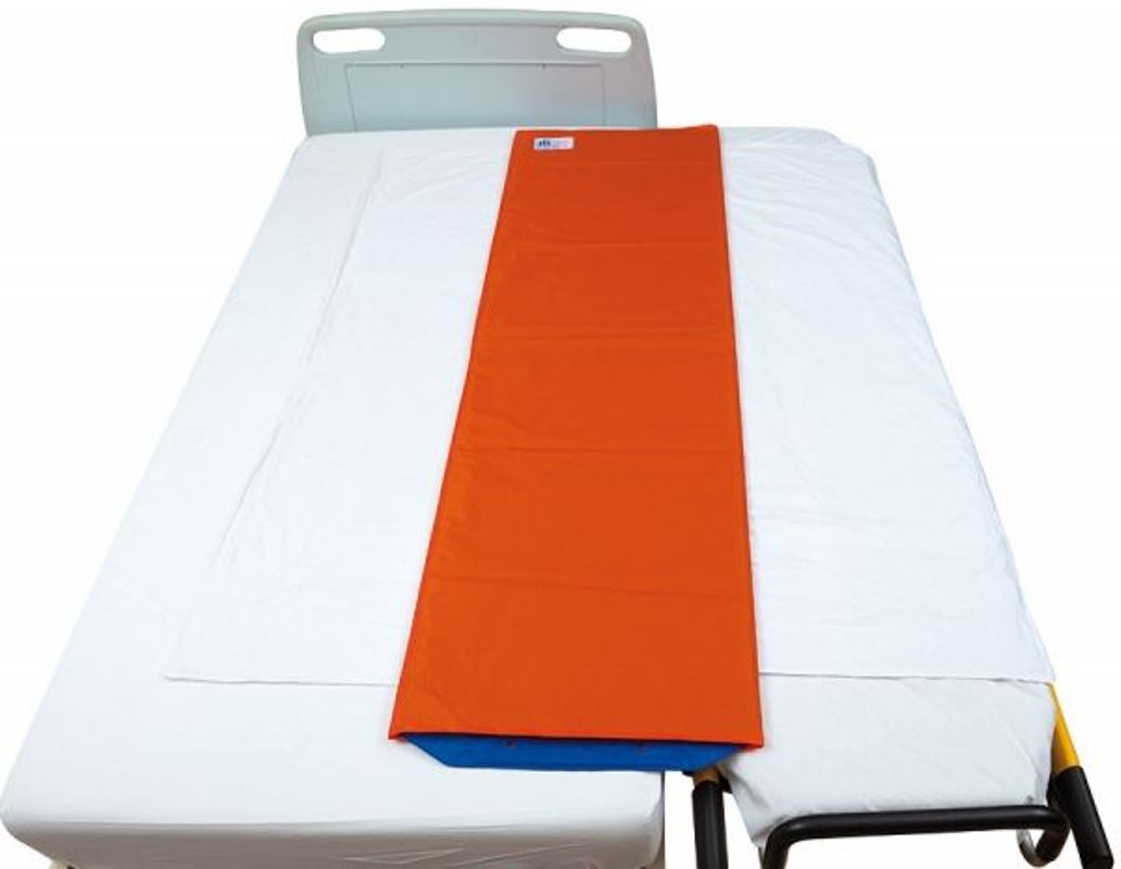 Patient Transfer System, comfortably transfer patients, X-ray Transparent, lateral transfers, sliding sleeve,